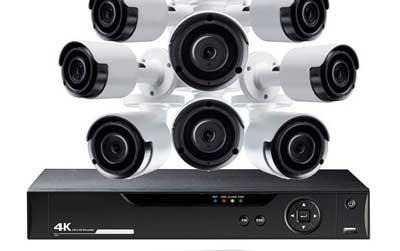 CCTV 8 Cameras + DVR Systems