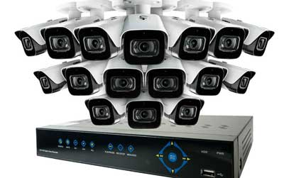 CCTV 16 Cameras + DVR Systems